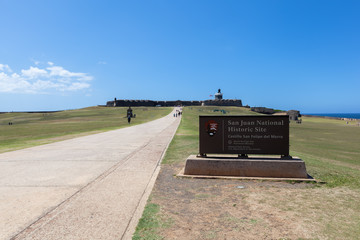 San Juan National Historic site, Fort San Felipe del Morro