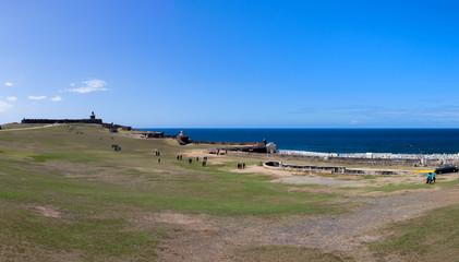 Fort San Felipe del Morro and Santa Maria Magdalena de Pazzis ce