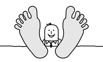 Photos illustrations et vid os de doigts de pied - Dessin de pied ...