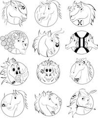 horses astrologi