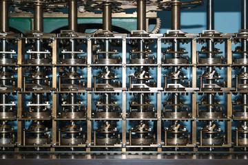 Turing machine close-up