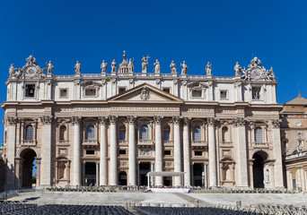 Vatican. St. Peter's cathedral