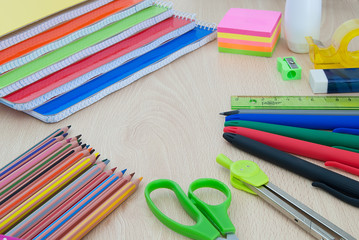 School supplies for back to school