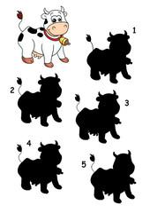l'ombra della mucca