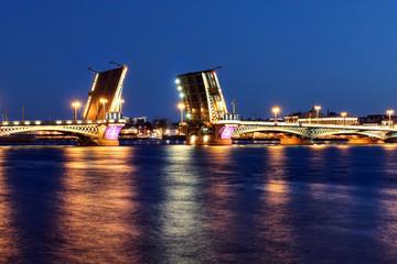 Bridge in Saint Petersburg, Russia