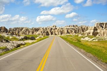 Wall Mural - Badlands Highway