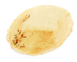 Pancake isolated on white