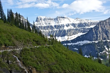 Wall Mural - Glacier Mountains
