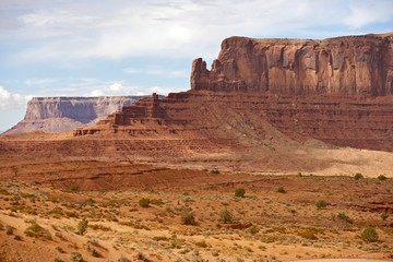 Wall Mural - Monument Valley Panorama