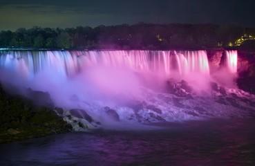 Wall Mural - Niagara Falls at Night