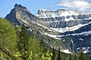 Wall Mural - Montana's Glaciers
