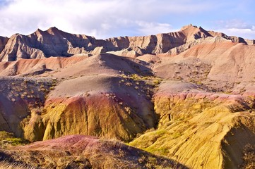 Wall Mural - Badlands Eroded Buttes