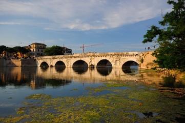 Rimini ponte di Tiberio