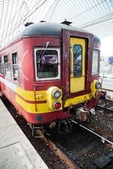 alte belgische Regionalbahn