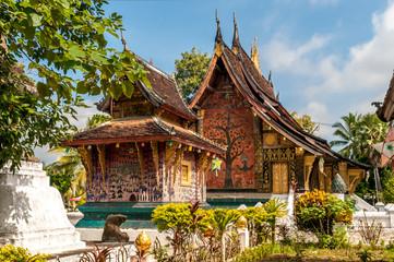 Wat Xieng Thong Fototapete