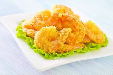 fried shrimps