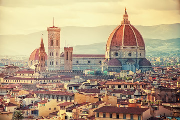 Fototapeten Florenz Beautiful Florence