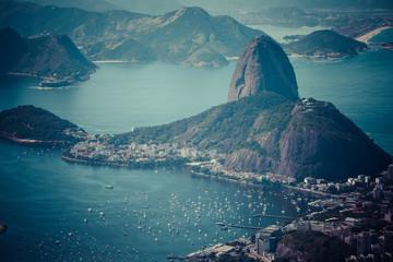 Rio de Janeiro, Brazil. viewed from Corcovado