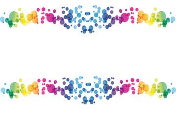 sfondo cerchi colorati