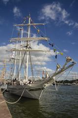 bateau Cuauhtemoc, Gréement , armada 2013, Rouen, 76