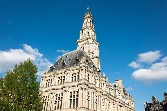 Arras Town Hall and Belfry