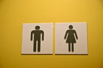 Women and Men Toilet Sign
