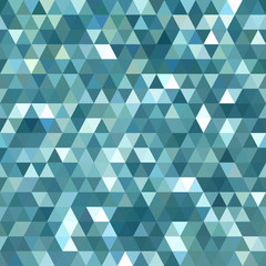 Photo sur Toile ZigZag Abstract Triangle Background Pattern