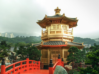 Golden Temple in Chi Lin, Diamond Hill
