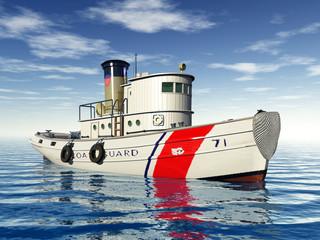 Schiff der Küstenwache