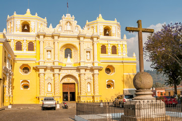 La Merced Church - Antigua,Guatemala