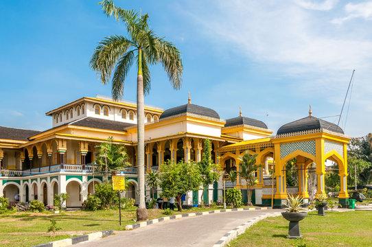 Sultan's Palace in Medan