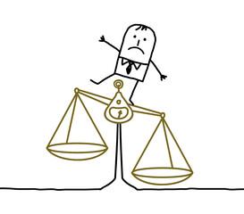 man & injustice