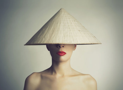 Girl in the chinese hat
