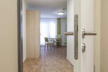 Gästezimmer offene Tür