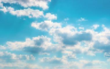 Beautiful vector cloudscape