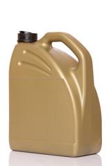 Motor oil canister