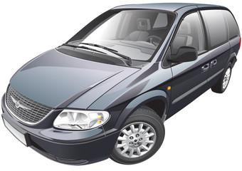 American minivan