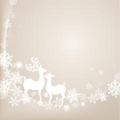 winterlicher Hintergrund in beige