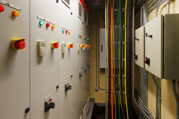 Mechanical electrical control room