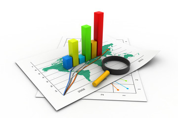 Analyzing business graph