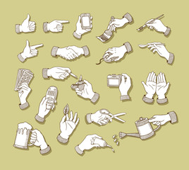 Hands Sketch 1 Icons