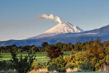 Poster Mexico Volcan Popocatepetl