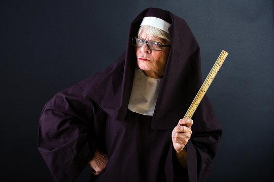 mean nun