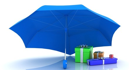 safety gifts (umbrellas, gifts)