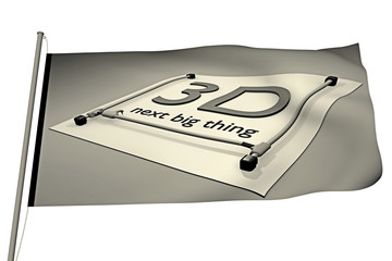 Fahne_3D next big thing - 3D
