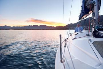 sailing ocean boat