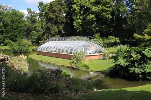 Serre du jardin des plantes de Nantes\