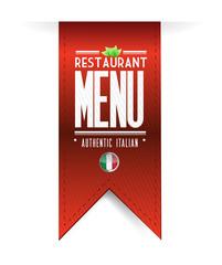italian restaurant texture banner