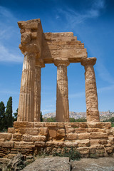 Temple of Castor and Pollux (Agrigento, Sicily, Italy)