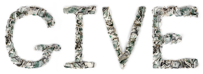 Give - Crimped 100$ Bills